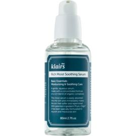 Klairs Rich Moist upokojujúce pleťové sérum s hydratačným účinkom  80 ml