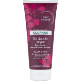 Klorane Figue Shower Gel with Nourishing Effect  200 ml