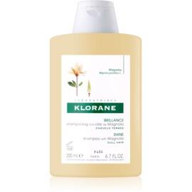 Klorane Magnolia szampon do nabłyszczenia  200 ml