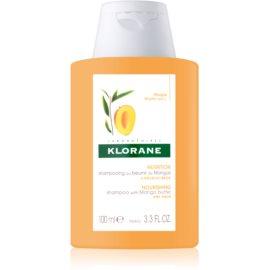 Klorane Mango hranilni šampon za suhe lase  100 ml