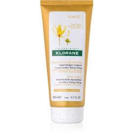 Klorane Ylang-Ylang obnovitveni balzam za lase izpostavljene soncu  200 ml