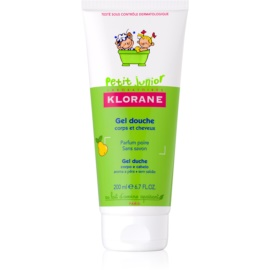 Klorane Junior Shower Gel For Body And Hair With Aromas Of Pears  200 ml