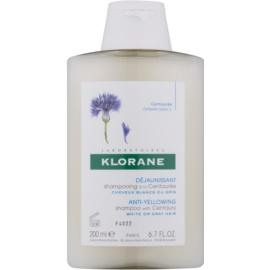 Klorane Centaurée Shampoo  voor Blond en Grijs Haar   200 ml
