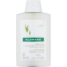 Klorane Oat Milk champú para lavar el cabello con frecuencia  200 ml