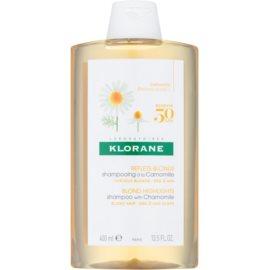 Klorane Camomille šampon pro blond vlasy  400 ml