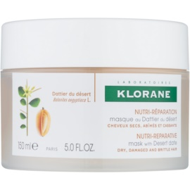Klorane Dattier Nourishing Mask For Brittle And Stressed Hair  150 ml
