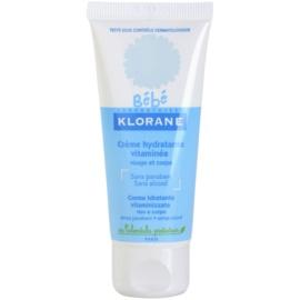 Klorane Bébé hidratáló krém arcra és testre  40 ml