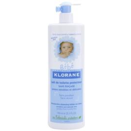 Klorane Bébé bezoplachové čistiace mlieko  750 ml