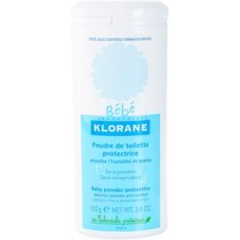 Klorane Bébé pudra de talc pentru copii fara parabeni  100 g