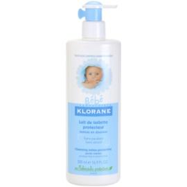 Klorane Bébé lapte pentru curatare pentru copii  500 ml
