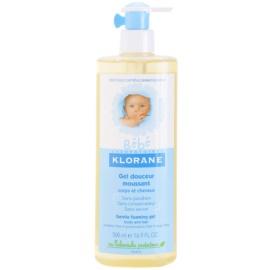 Klorane Bébé sanftes Schaum-Gel für Haar und Körper  500 ml