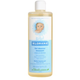 Klorane Bébé Gentle Foaming Gel For Hair And Body  500 ml