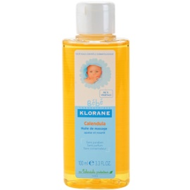 Klorane Bébé Calendula masážny olej pre deti nechtík  100 ml