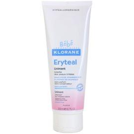 Klorane Bébé Erytéal čisticí mast pro podrážděnou pokožku  200 ml