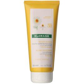 Klorane Chamomile Brightening Conditioner for Blonde Hair  200 ml