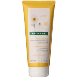 Klorane Camomille auffrischender Conditioner für blonde Haare  200 ml
