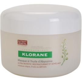 Klorane Crambe dAbyssinie tápláló maszk hullámos hajra  150 ml