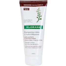 Klorane Crambe dAbyssinie obnovující šampon pro vlnité vlasy  200 ml
