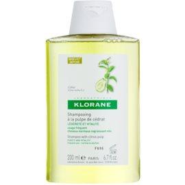 Klorane Cédrat šampon pro normální vlasy  200 ml