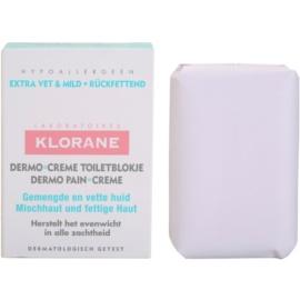 Klorane Dermo Pain Creme mydlo pre zmiešanú až mastnú pokožku  100 g