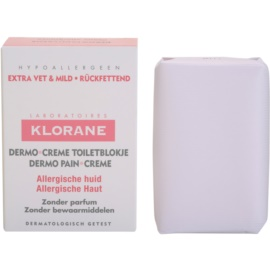 Klorane Dermo Pain Creme Soap For Allergic Skin  100 g