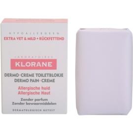 Klorane Dermo Pain Creme Soap For Allergic Skin  100 g