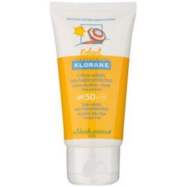 Klorane Enfant crema solar para niños SPF 50+  50 ml