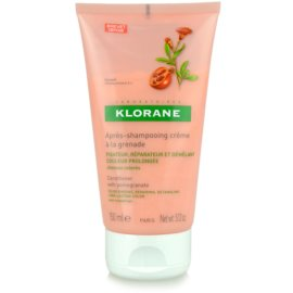 Klorane Pomegranate acondicionador para cabello teñido  150 ml