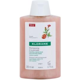 Klorane Grenade šampon pro barvené vlasy  200 ml