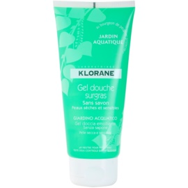 Klorane Hygiene et Soins du Corps Jardin Aquatique tusfürdő gél  200 ml