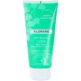 Klorane Hygiene et Soins du Corps Jardin Aquatique sprchový gél  200 ml