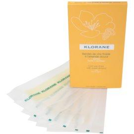 Klorane Hygiene et Soins du Corps voskové depilační pásky na nohy  6 ks