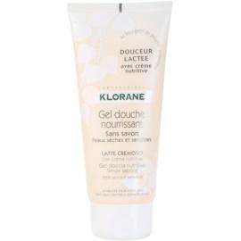 Klorane Hygiene et Soins du Corps Douceur Lactee vyživující sprchový gel  200 ml