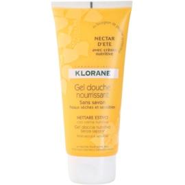 Klorane Hygiene et Soins du Corps Nectar d'été vyživující sprchový gel  200 ml
