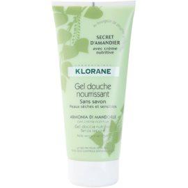 Klorane Hygiene et Soins du Corps Secret D'Amandier gel de banho nutritivo  200 ml