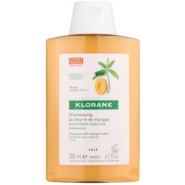 Klorane Mangue shampoing nourrissant pour cheveux secs  200 ml