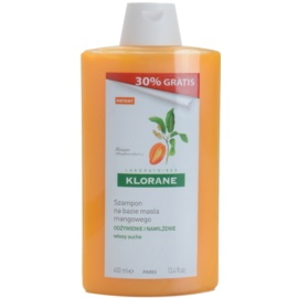 Klorane Mangue shampoing nourrissant pour cheveux secs  400 ml