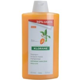 Klorane Mango hranilni šampon za suhe lase  400 ml