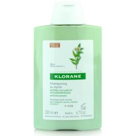Klorane Myrte Shampoo gegen fettige Schuppen  200 ml