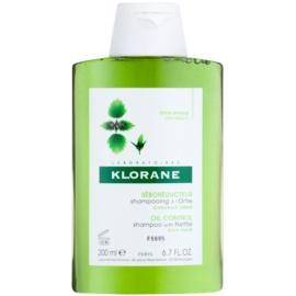 Klorane Nettle szampon do włosów przetłuszczających  200 ml