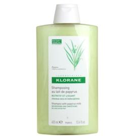 Klorane Papyrus Milk szampon do włosów suchych, trudno poddających się stylizacji  400 ml