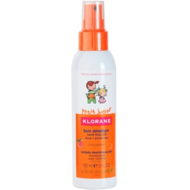 Klorane Junior spray pentru par usor de pieptanat  150 ml