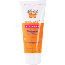 Klorane Petit Junior dětský šampon s vůní broskve  200 ml