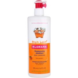 Klorane Petit Junior dětský šampon s vůní broskve  500 ml