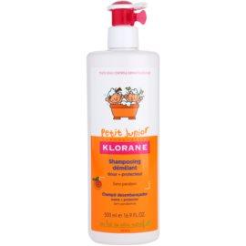 Klorane Petit Junior sampon pentru copii cu arome de piersici  500 ml