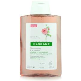 Klorane Pivoine de Chine šampon zklidňující citlivou pokožku hlavy  200 ml