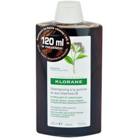Klorane Quinine зміцнюючий шампунь для слабкого волосся  400 мл