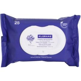 Klorane Yeux Sensibles chusteczki oczyszczające  25 szt.