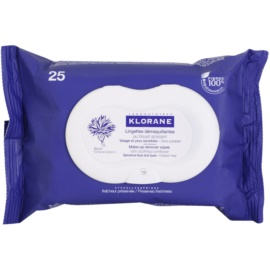 Klorane Yeux Sensibles Cleansing Wipes  25 pc