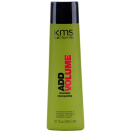 KMS California Add Volume champô reforçador para dar volume  300 ml